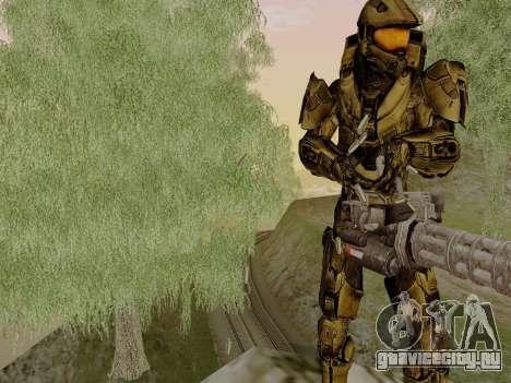 Master Chief для GTA San Andreas второй скриншот