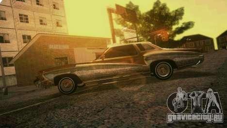 Chevy Monte Carlo Lowrider для GTA Vice City вид сбоку