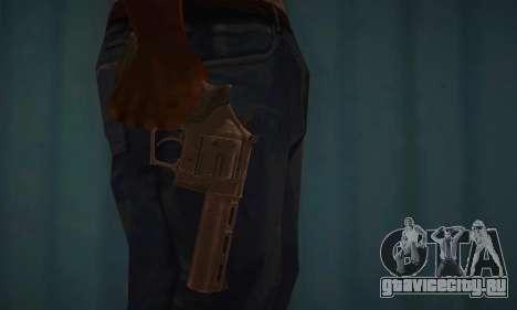 Револьвер MR96 для GTA San Andreas третий скриншот