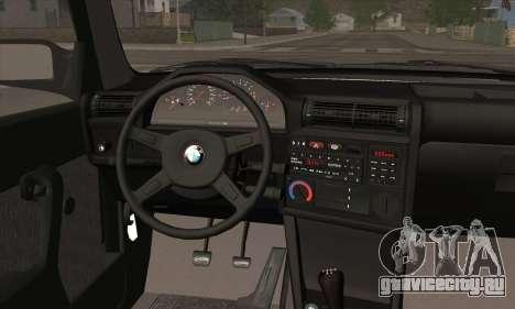 BMW M3 E30 для GTA San Andreas двигатель