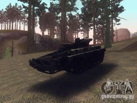 БМП-2 для GTA San Andreas вид сзади
