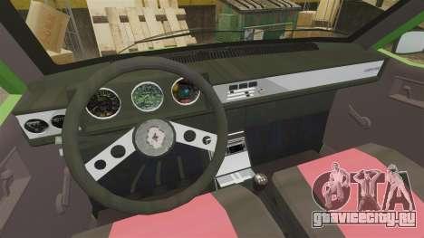 Renault 12 Toros 2 для GTA 4 вид сзади