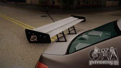 Toyota Vios Slalom Edition для GTA San Andreas вид сзади