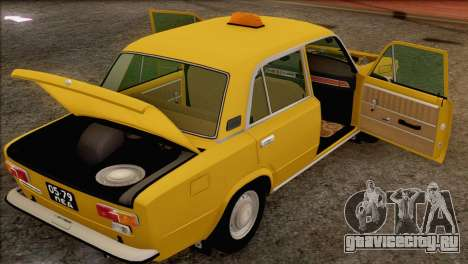 ВАЗ 21011 Такси для GTA San Andreas колёса