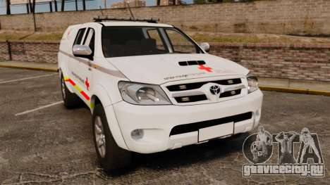 Toyota Hilux French Red Cross [ELS] для GTA 4