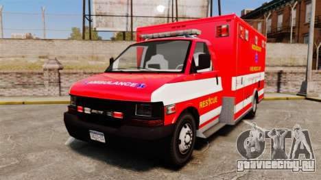 Brute Woonsocket Fire Medic Unit [ELS] для GTA 4
