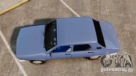 Renault 12 Toros v2.0 для GTA 4 вид справа