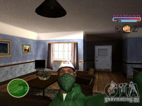 С-HUD Diamond RP для GTA San Andreas
