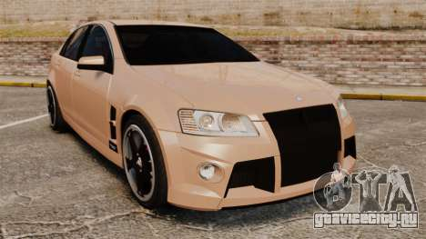 Holden HSV W427 2009 для GTA 4