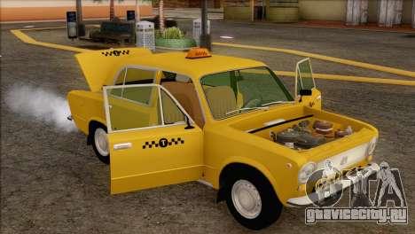 ВАЗ 21011 Такси для GTA San Andreas салон