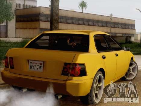 Stratum Sedan Sport для GTA San Andreas вид слева