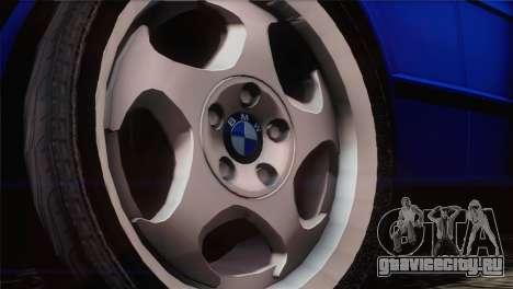 BMW 535i E34 Mafia Style для GTA San Andreas вид справа