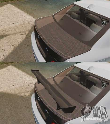 BMW 1M 2014 для GTA 4 вид сверху