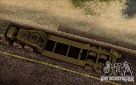 ЧМЗАП-5247Г для GTA San Andreas вид справа