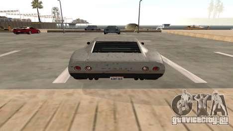 Monroe из GTA 5 для GTA San Andreas вид сзади