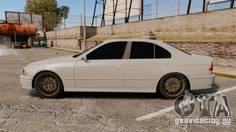BMW 525i (E39) для GTA 4 вид слева