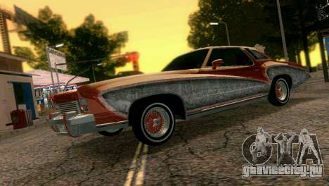Chevy Monte Carlo Lowrider для GTA Vice City вид слева