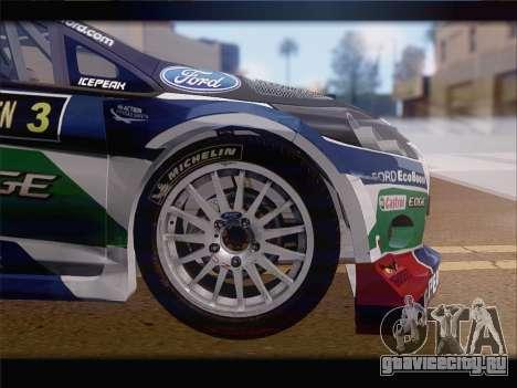 Ford Fiesta RS WRC 2013 для GTA San Andreas вид сбоку