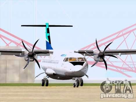 ATR 72-500 WestJet Airlines для GTA San Andreas вид слева