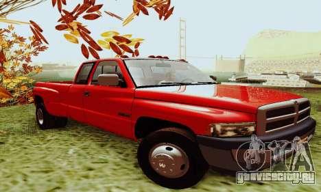 Dodge Ram 3500 для GTA San Andreas вид слева
