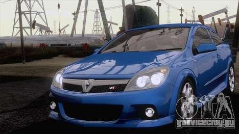 Vauxhall Astra VXR  2007 для GTA San Andreas