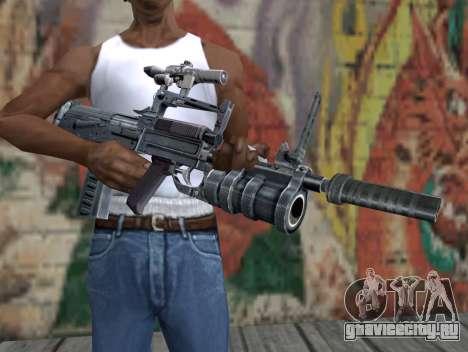 Винтовка из  S.T.A.L.K.E.R. для GTA San Andreas третий скриншот