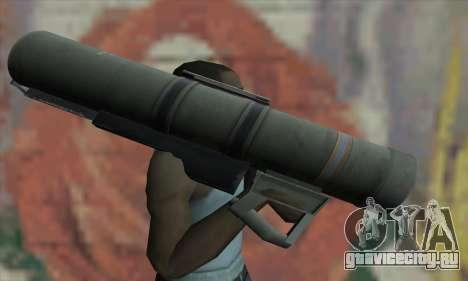 Bazooka для GTA San Andreas третий скриншот