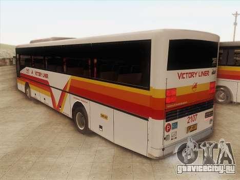 Man 14.220 (Santarosa Exfoh) - Victory Liner 210 для GTA San Andreas вид слева