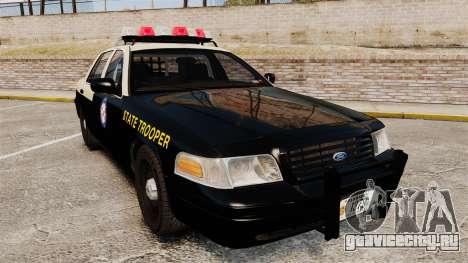 Ford Crown Victoria 1999 Florida Highway Patrol для GTA 4