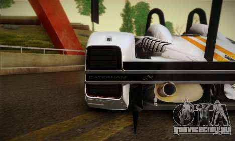 Caterham-Lola SP300.R для GTA San Andreas вид сзади слева