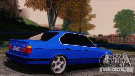 BMW 535i E34 Mafia Style для GTA San Andreas вид слева