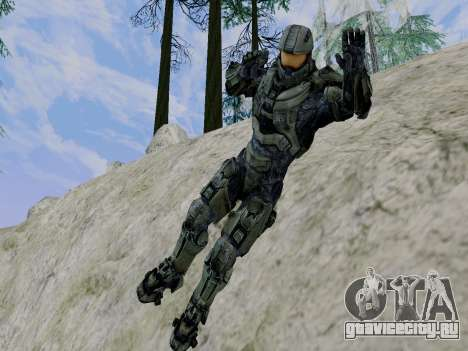 Master Chief для GTA San Andreas шестой скриншот