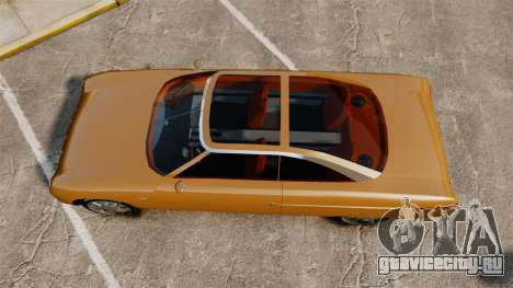 Ford Forty Nine Concept 2001 для GTA 4 вид справа