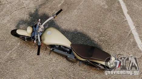 GTA IV TLAD Nightblade для GTA 4 вид сзади слева