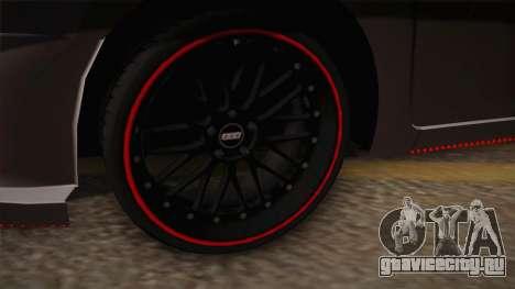 Toyota Vios Slalom Edition для GTA San Andreas вид изнутри