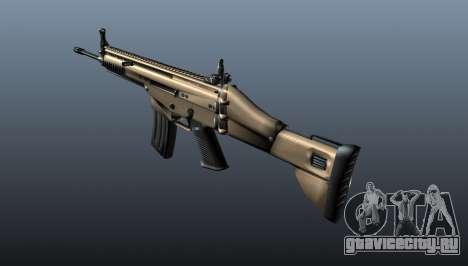 Автомат SCAR-L для GTA 4 второй скриншот
