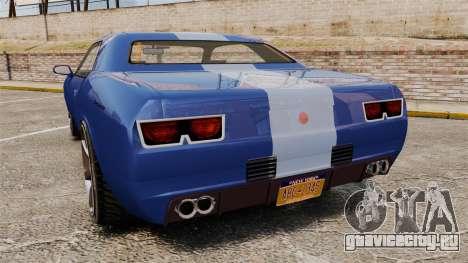 GTA V Declasse Gauntlet ZL1 для GTA 4 вид сзади слева