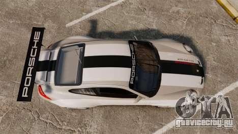 Porsche 911 (997) GT3 Cup для GTA 4 вид справа