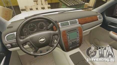 Chevrolet Silverado 1500 2010 для GTA 4 вид изнутри