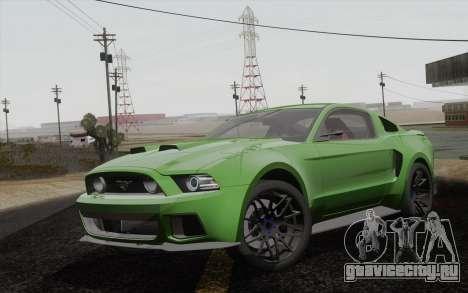 Ford Mustang GT 2013 для GTA San Andreas