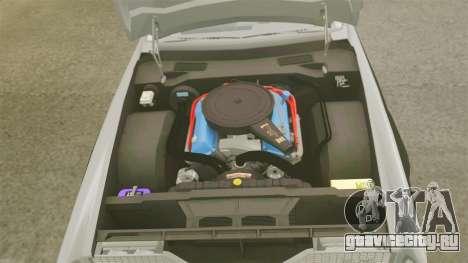 Cadillac Eldorado Coupe 1969 для GTA 4 вид изнутри