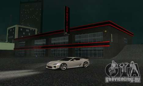 Новый автосалон в Dorothi для GTA San Andreas пятый скриншот