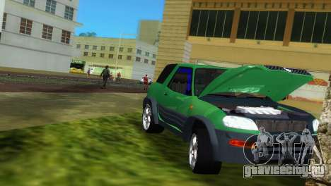 Toyota RAV 4 L 94 Fun Cruiser для GTA Vice City вид сбоку