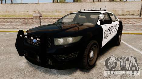 GTA V Vapid Steelport Police Interceptor [ELS] для GTA 4