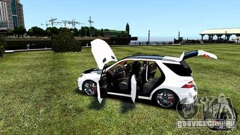 Mercedes-Benz ML63 AMG для GTA 4 вид сбоку