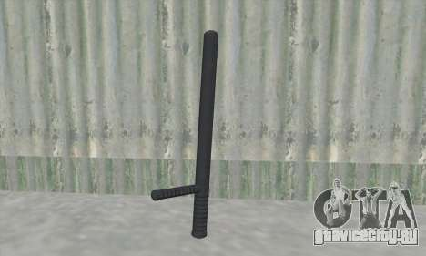 Полицейская дубинка из GTA V для GTA San Andreas