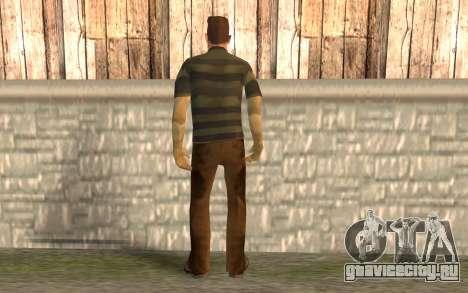 Песчаный человек для GTA San Andreas второй скриншот