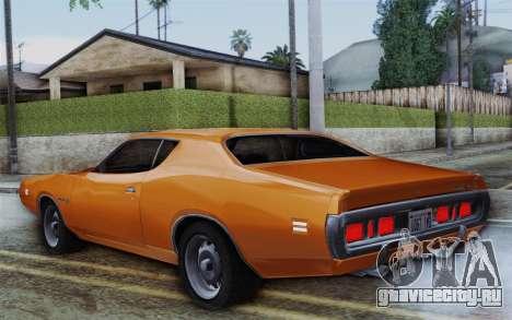 Dodge Charger 1971 Super Bee для GTA San Andreas вид слева