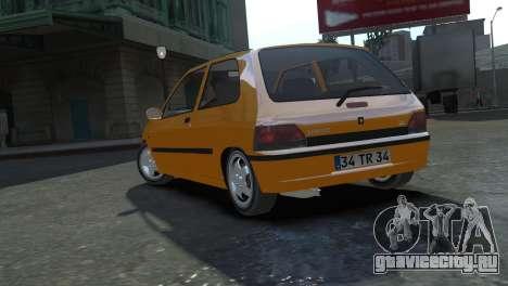 Renault Clio Williams для GTA 4 вид слева