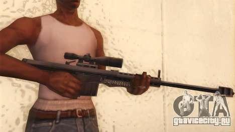 Barrett из Call of Duty MW2 для GTA San Andreas третий скриншот